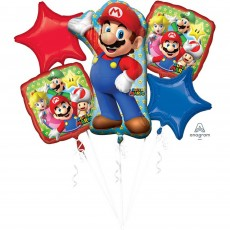 Super Mario Bouquet Shaped Balloons