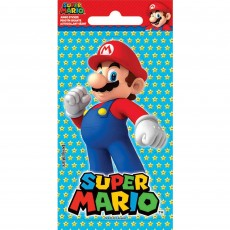 Super Mario Jumbo Sticker Favour