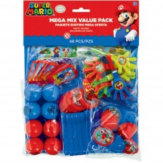 Super Mario Mega Mix Value Pack Favours