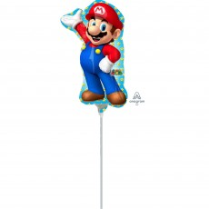 Super Mario Mini Shape Shaped Balloon
