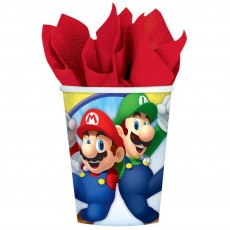 Super Mario Party Supplies - Paper Cups
