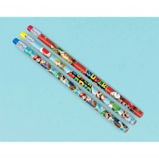 Super Mario Pencil Favours