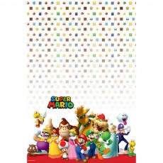 Super Mario Plastic Table Cover