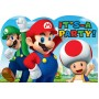 Super Mario Postcard It's a Party Invitations Pack of 8