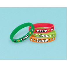 Super Mario Rubber Bracelets Favours