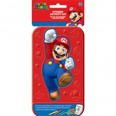 Super Mario Sticker Activity Kit Favours