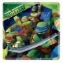 Square Teenage Mutant Ninja Turtles Paper Dinner Plates 23cm Pack of 8