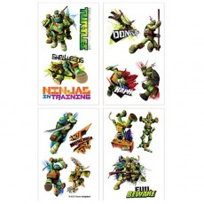 Teenage Mutant Ninja Turtles Tattoo Favours 5cm x 4cm 8 Tattoos