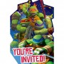 Teenage Mutant Ninja Turtles Postcard Invitations Pack of 8