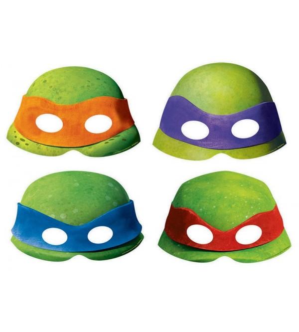 Teenage Mutant Ninja Turtles Paper Party Masks Pack of 8