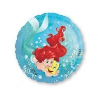 The Little Mermaid Foil Balloons 45cm Ariel Deam Big