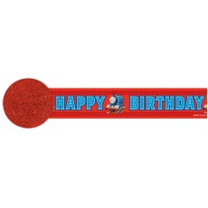 Thomas & Friends Happy Birthday Crepe Streamer 9.14m x 4.8cm