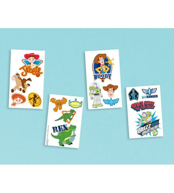 Toy Story 3 Tattoo Favours 16 Tattoos