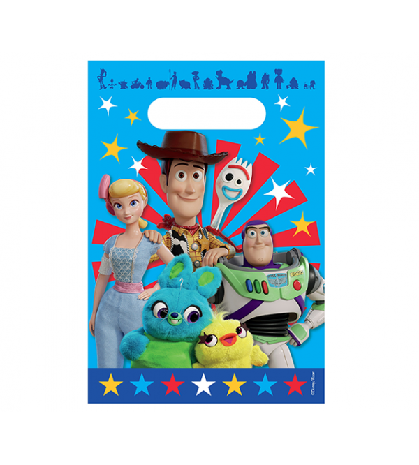 Toy Story 4 Favour Bags 24cm x 16cm Pack of 8