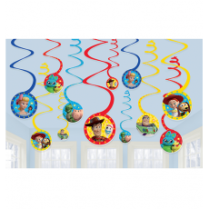 Toy Story 4 Spiral Swirl Hanging Decorations