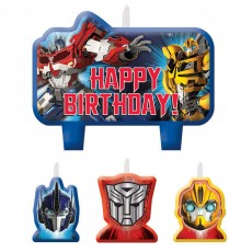 Transformers Candles