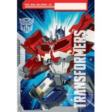 Transformers Folded Loot Bags Favour Bags 23cm Pack of 8