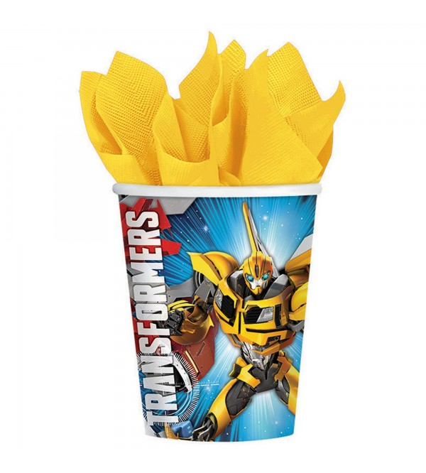 Transformers Paper Cups 266ml Pack of 8