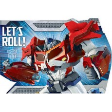 Transformers Postcard Invitations Pack of 8