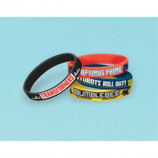Transformers Rubber Bracelets Favours