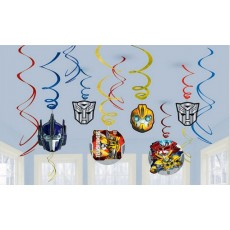 Transformers Swirls Hanging Decorations