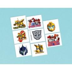 Transformers Core Tattoo Favours 5cm x 4cm 8 Tattoos