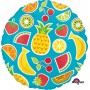 Hawaiian Party Decorations Tropical Fruits Standard HX Foil Balloons