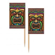 Hawaiian Luau Tiki Party Picks 6cm Pack of 50