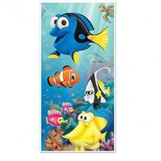 Hawaiian Under the Sea Tropical Fish Door Decoration 76cm x 152cm