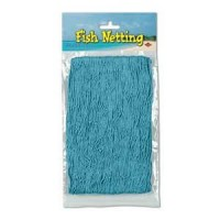 Tropical Fiesta Misc Decorations 1.2m x 3.65m Teal Fish Netting