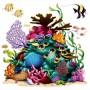 Hawaiian Coral Reef Insta-Theme Prop Wall Decoration 160cm x 160cm