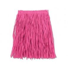 Pink Hawaiian Hula Mini Skirt Adult Costume 91cm x 41cm