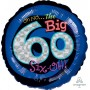 60th Birthday Foil Balloons 45cm Oh No