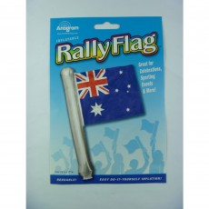 Australia Day Rally Flag Shaped Balloon 62cm x 45cm