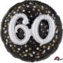 Round 60th Birthday Sparkling Celebration Multi-Balloon Holographic Foil Balloon 91cm