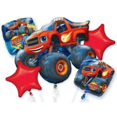 Blaze & The Monster Machines Bouquet Foil Balloons Pack of 5