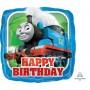 Square Thomas & Friends Standard HX Happy Birthday Foil Balloon 45cm