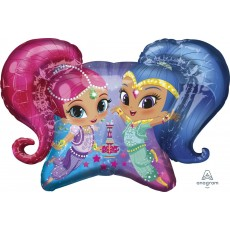 Shimmer & Shine SuperShape XL Shaped Balloon 78cm x 55cm
