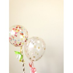 Clear Latex Balloons