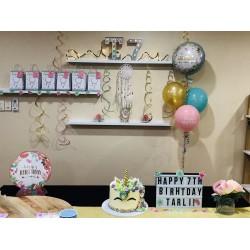 Boho Girl decorations