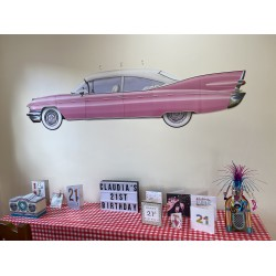 Rock n Roll car centrepieces