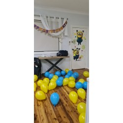 Minions Despicable Me Latex Balloons