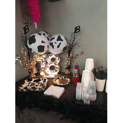 Cow Print Decorations