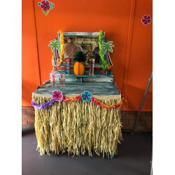 Hawaiian Tiki Table Decorations
