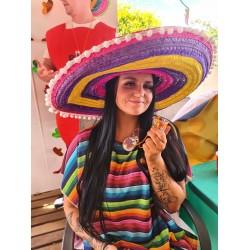 Mexican Fiesta Sombrero and Costume Accessories