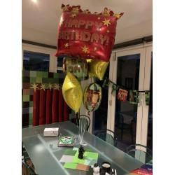Minecraft TNT Bouquet Foil Balloons