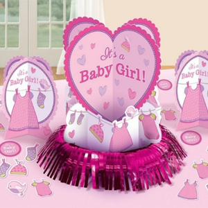 Girl Baby Shower Party Supplies
