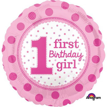 Girls 1st Party Supplies
