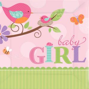 Tweet Baby Girl Party Supplies