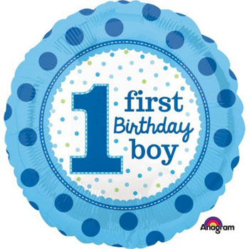Boys 1st Birthday Party Supplies